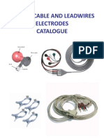 ECG EKG Cable and Leadwires Electrodes