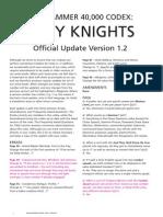 m2170010a Grey Knights FAQ Version 1 2 January 2012