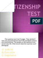 Citizenship Test 3