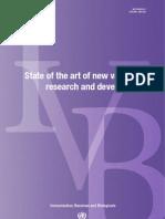 Vaccine Research Status