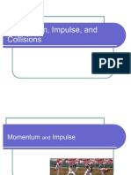 Momentum, Impulse and Collision
