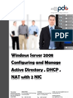 Training Windows Server 2008 Running on January 2012