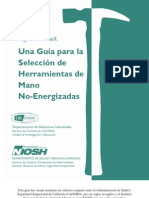 Una Guía para la Selección de Herramientas de Mano No-Energizadas