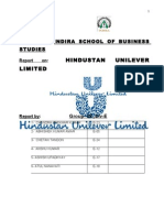 Hindustan Unilever Limited Report