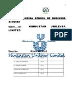 Hindustan Unilever Limited Report