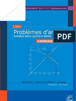Problemes d Analyse 1