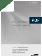 Samsung Air Conditionner Installation Manuel