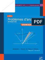 Problemes d Analyse 3