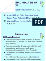 Differential Analysis of Fluid Flow 1221