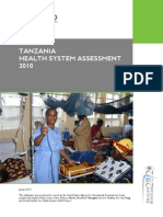 Tanzania Health System Assessment