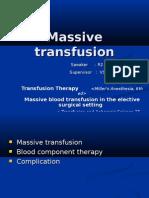 Massive Transfusion章宏吉