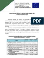 Raport Finante Publice Locale 2009 Bucuresti