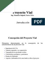 Elementos de Un Proyecto Vial