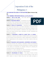 The Corporation Code of the Philippines 1