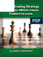 Forex Trading Strategy Mistakes