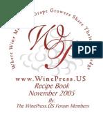 Winepress Recipes