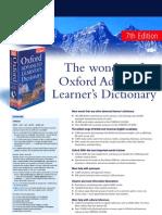 Oxford Dictionaries Catalogue