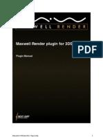 Max Well Render 3dsmax Plugin Manual