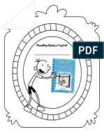 Reading Fluency Packet Cover - Diary of a Wimpy Kid