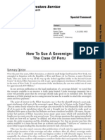 How to Sue a Sovereign