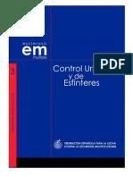 Control urinario y de esfínteres