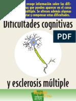 Dificultades cognitivas y esclerosis múltiple