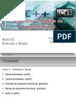 Aula 03 - FAP_ALGORITMO E LÓGICA DE PROG.II (prof. MSc. Flávio Barros) 2011.2