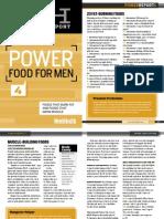 Power Food for Men