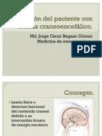 Atención del paciente con trauma craneoencefálico97