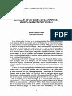 El Origen de los Celtas en la Península Ibérica. Protoceltas y Celtas