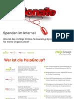 Was ist wichtig im Online-Fundraising?