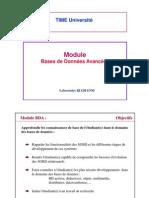 Cours Introduction BDA
