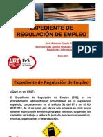 PRESENTACION SOBRE EXPEDIENTES DE REGULACIÓN DE EMPLEO final