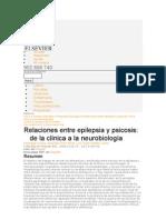 epilepsia y psicosis