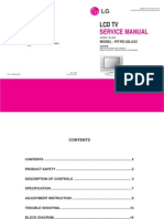 Service Manuals LG TV LCD RT20LA33 RT-20LA33 Service Manual