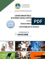 Crim&Tech Booklet 2011-2012