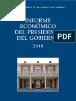 Informe Económico del Presidente del Gobierno 2010