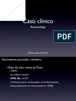 Caso clínico de reumatología