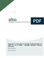 ALTO DJEI SI Copyright Consultation