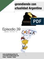 Aprendiendo Con Actualidad Argentina Episodio 39