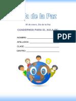 Cuaderno Dia de La Paz Actividades
