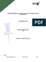 Manual de Instalacion Programa de Conectividad a Instituciones Publicas
