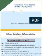 Dimensionamento_Fossa