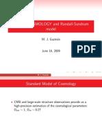 M. J. Guzman- Brane Cosmology and Randall-Sundrum Model