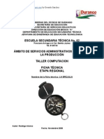 Análisis de Objeto Técnico La Brújula