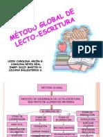 EJERCICIO MÉTODO GLOBAL