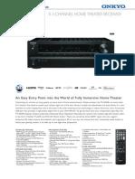 TX SR309 Info Sheet