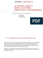 M. Dube and L. Thompson- Quantum Solitons in Magnetic Systems