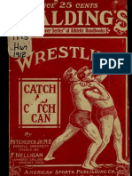 1854 Catch Wrestling Book