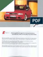 Audi B5 RS4 Training Guide